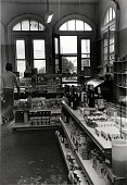 """view Pic-N-Save Food Market, corner of 18th and Market, Galveston, Texas, from """"The Corner Stores of Galveston,"""" Galveston County Cultural Arts Council digital asset number 1"""