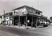 "view Jules' Grocery Store and Market, 1326 33rd, Galveston, Texas, from ""The Corner Stores of Galveston,"" Galveston County Cultural Arts Council digital asset number 1"