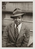view Langston Hughes, from the portfolio 'O, Write My Name': American Portraits, Harlem Heroes digital asset number 1
