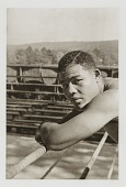 view Joe Louis, from the portfolio 'O, Write My Name': American Portraits, Harlem Heroes digital asset number 1