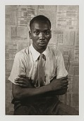 view Jacob Lawrence, from the portfolio 'O, Write My Name': American Portraits, Harlem Heroes digital asset number 1