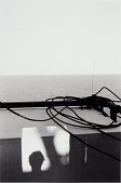 view Untitled (Water, Shadow with Person's Head, Cable) digital asset number 1