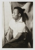 view James Baldwin, from the portfolio 'O, Write My Name': American Portraits, Harlem Heroes digital asset number 1