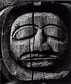 view Untitled (Carved Wooden Face) digital asset number 1