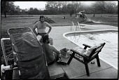 view Two Men by Swimming Pool, Hopkins County, from the Kentucky Documentary Survey Project digital asset number 1
