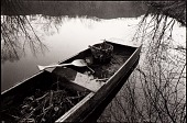 view Boat and Traps, Little Kanawa river, Glenville, West Virginia, 1978, from the Appalshop, Inc., Documentary Survey Project digital asset number 1
