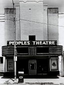 view Peoples Theatre, from the Kansas Documentary Survey Project digital asset number 1