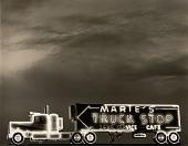 view Truckstop sign, Highway 86, Benson, Arizona digital asset number 1