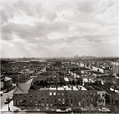 view View of East Baltimore from the roof of the old National Brewing Company building in Canton. digital asset number 1
