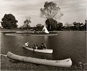 view Boy Scouts on the boat lake in Patterson Park digital asset number 1