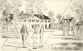 "view Washington at Mount Vernon (cancelled plate from the portfolio ""The Bicentennial Pageant of George Washington"") digital asset number 1"