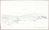 view From Via Appia and Alban Mountains digital asset number 1