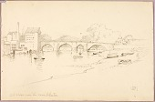 view Old Bridge over the Dee, Chester digital asset number 1