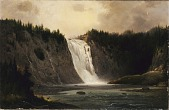 view Waterfall on Mont-Morency digital asset number 1
