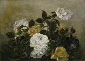 view Roses--Fancy Still Life, Still Life with Roses digital asset number 1