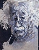 """view """"Making allowances for human imperfections, I do feel that in America the most valuable thing in life is possible, the development of the individual and his creative powers.""""--Albert Einstein, 1870-1955. From the series Great Ideas of Western Man. digital asset number 1"""