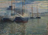 view Untitled (Harbor Scene) digital asset number 1