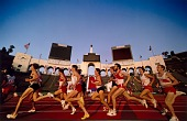 view Distance Runners, Los Angeles, Coliseum, from the series Shooting for the Gold digital asset number 1
