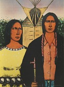 view American Indian Gothic, from the portfolio Indian Self-Rule digital asset number 1