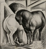 view Two Horses digital asset number 1