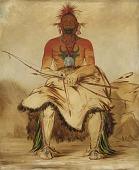 view La-dóo-ke-a, Buffalo Bull, a Grand Pawnee Warrior digital asset number 1