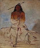 view Ah-sháw-wah-róoks-te, Medicine Horse, a Grand Pawnee Brave digital asset number 1