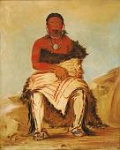 view Lá-shah-le-stáw-hix, Man Chief, a Republican Pawnee digital asset number 1