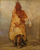 view Le-sháw-loo-láh-le-hoo, Big Elk, Chief of the Skidi (Wolf) Pawnee digital asset number 1