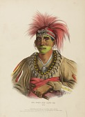 view NO-WAY-KE-SUG-GA. OTOE., from History of the Indian Tribes of North America digital asset number 1