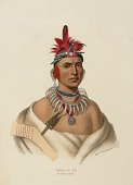 view CHONO CA PE. AN OTTOE CHIEF., from History of the Indian Tribes of North America digital asset number 1