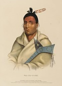 view WAA-TOP-E-NOT., from History of the Indian Tribes of North America digital asset number 1