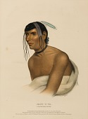 view JACK-O-PA. A CHIPPEWA CHIEF., from History of the Indian Tribes of North America digital asset number 1