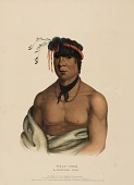view WESH-CUBB. A CHIPPEWAY CHIEF, from History of the Indian Tribes of North America digital asset number 1