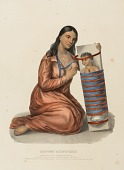 view CHIPPEWAY SQUAW & CHILD., from History of the Indian Tribes of North America digital asset number 1