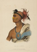 view TAH-COL-O-QUOIT., from History of the Indian Tribes of North America digital asset number 1