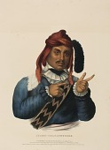 view ITCHO-TUSTINNUGGEE, from History of the Indian Tribes of North America digital asset number 1