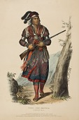 view TUKO-SEE-MATHLA. A SEMINOLE CHIEF., from History of the Indian Tribes of North America digital asset number 1