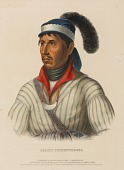 view APAULY-TUSTENNUGGEE., from History of the Indian Tribes of North America digital asset number 1