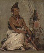 view Eh-toh'k-pah-she-pée-shah, Black Moccasin, aged Chief digital asset number 1