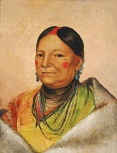 view Mee-chéet-e-neuh, Wounded Bear's Shoulder, Wife of the Chief digital asset number 1