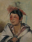 view Aú-nah-kwet-to-hau-páy-o, One Sitting in the Clouds, a Boy digital asset number 1