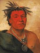 view O-ho-páh-sha, Small Whoop, a Distinguished Warrior digital asset number 1