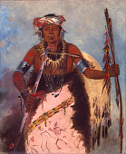 view Notch-ee-níng-a, No Heart, (called White Cloud), Chief of the Tribe digital asset number 1
