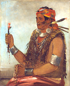 view Ten-sqúat-a-way, The Open Door, Known as The Prophet, Brother of Tecumseh digital asset number 1