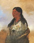 view Hón-je-a-pút-o, Wife of Bear-catcher digital asset number 1