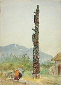 view The Raven Totem Pole digital asset number 1