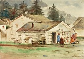 view The Three Crows Market, Sitka, 1889 digital asset number 1