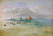 view Sioux Village, Lake Calhoun, near Fort Snelling digital asset number 1