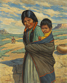 view Hopi Mother and Child digital asset number 1
