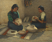 view Hopi Pottery Painters digital asset number 1